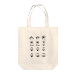 りんご神 Tote bags