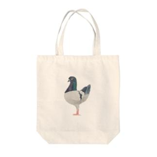 鳩のグッズ Tote bags