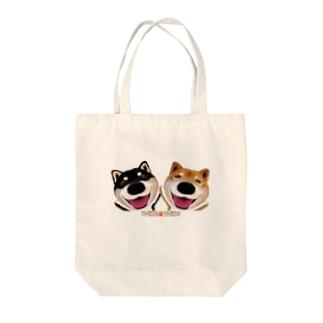 柴犬のけん太とげん太② Tote bags