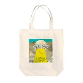 UFOの飛来 Tote bags