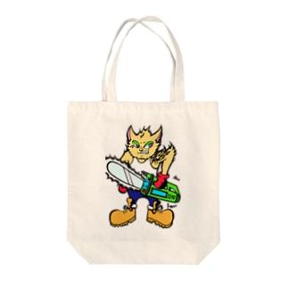 格ゲーネコ(='x'=) Tote bags