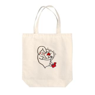 文鳥とすやすや Tote bags