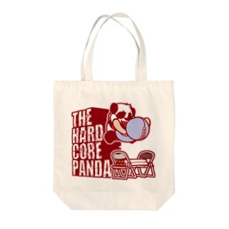 ハードコアパンダ(イス&蛍光灯) Tote bags