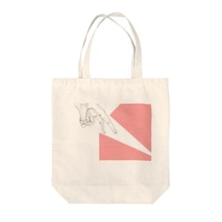 はさみ Tote bags