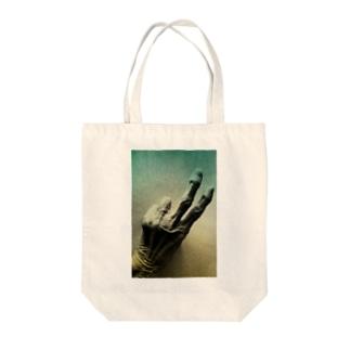 老人の手40 Tote Bag