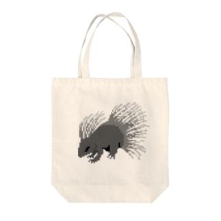ドット 山嵐 Tote bags