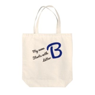 My name starts with letter B Tote bags