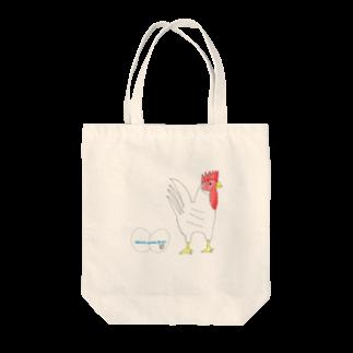 ★いろえんぴつ★のたまごとにわとり Tote bags
