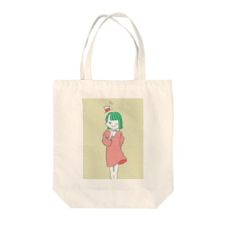 ぱすてるちゃん Tote bags