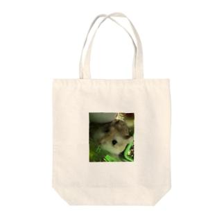 かわいいまーくくん Tote bags