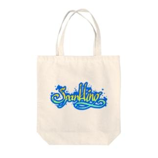 スパークリング Tote bags