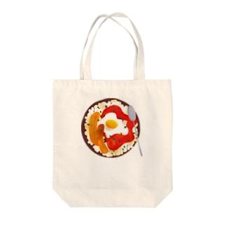 Arroz Cubana Tote bags