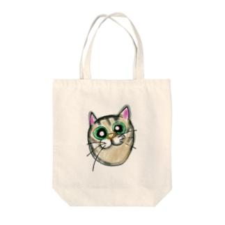 yopiiison のイラストクゥさん Tote bags