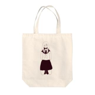 いわざる Tote bags