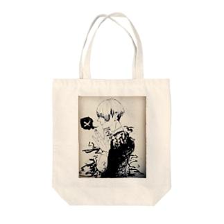 人間になりたいコ トートバッグ Tote bags