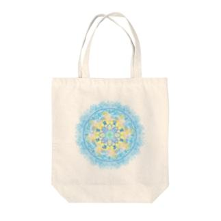 龍体フトマニ図 Tote bags