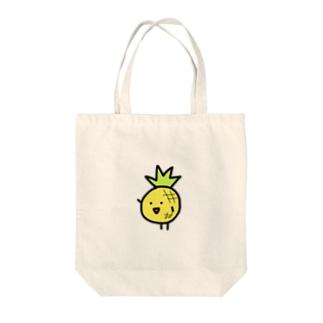 ぱいなぽ Tote bags
