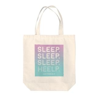 sleep Tote bags