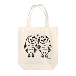 知恵がキラリ☆ Tote bags