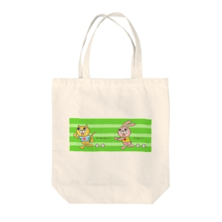 ランニングマン Tote bags