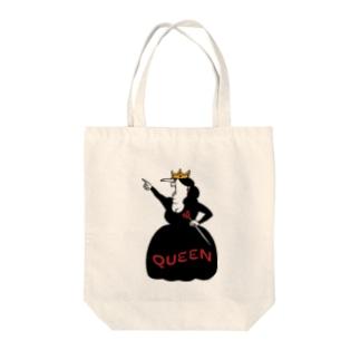 こわいおばさん Tote bags