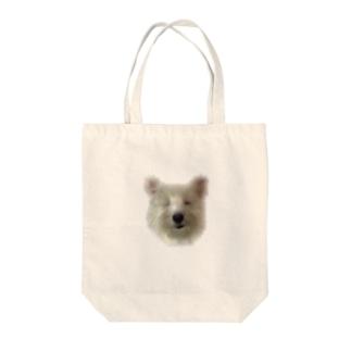 わんちん Tote bags