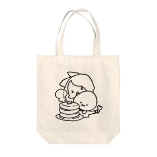 たまごだんしゃく(パンケーキ) Tote bags