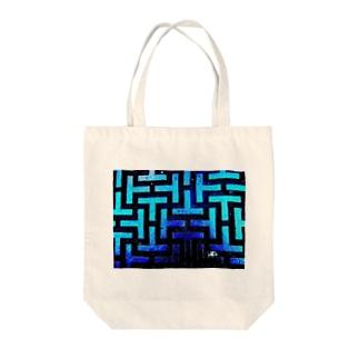 座布団のマンホール Tote bags