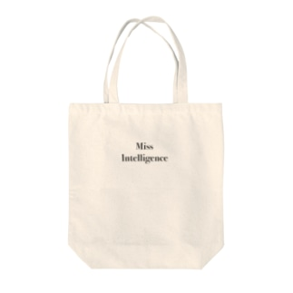 lapetitemortのMiss intelligence  Tote bags