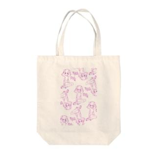 りすかねこみみ Tote bags