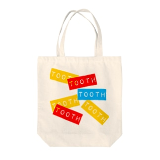 tooth Tote bags