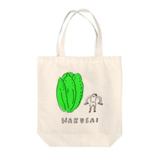 HAKUSAI Tote bags