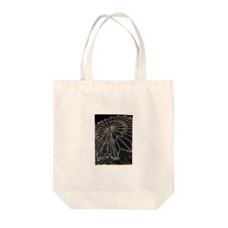 カラフルデザイン Tote bags
