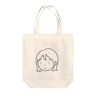わたしちゃん Tote bags