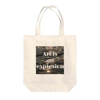 芸術的な服 Tote bags