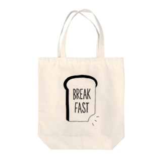 BREAK FAST Tote bags