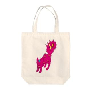 びっくりねこ(='x'=) Tote bags