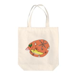 冬ネコ(='x'=) Tote bags