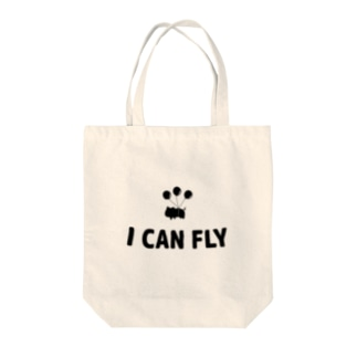 I CAN FLY Tote bags