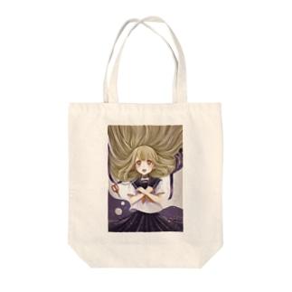 着飾った女の子 Tote bags