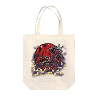 ○による恐怖の可能性 Tote bags