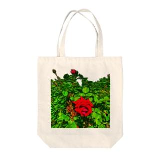 ローズガーデン🌹 Tote bags