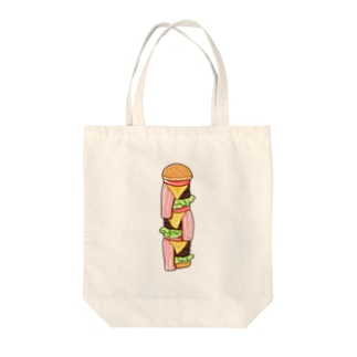規格外バーガー Tote bags