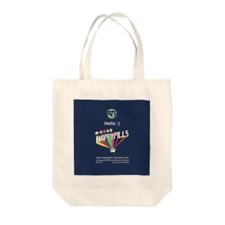 Happypills Tote bags
