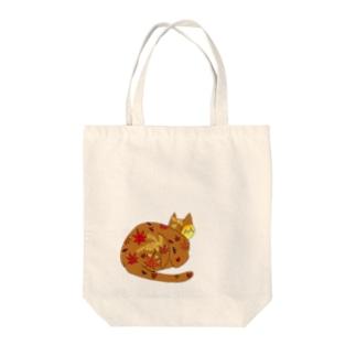 秋ねこ(='x'=) Tote bags