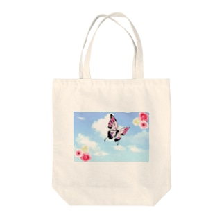 空の蝶 Tote bags