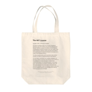 The MIT License Tote bags