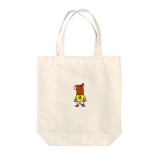 馬頭琴くん Tote bags