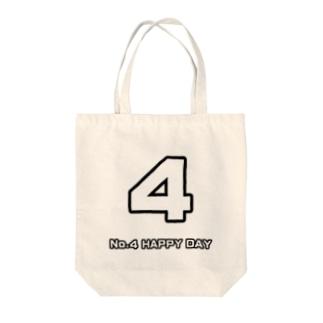 No.4 Tote Bag