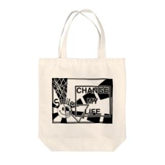 ニコドクロからピッカーン Tote bags